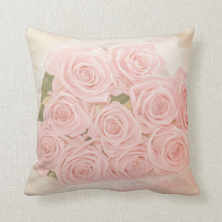 Roses are pink my love throw pillow