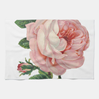 Roses are Pink Tea Towel