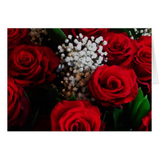 Roses Are Red Poem Save-The-Date Wedding Cards