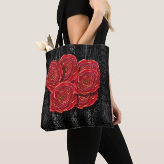 Rose's are Red Tote
