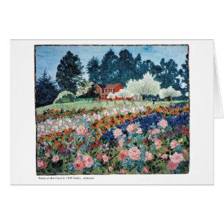 Roses at the Farm card