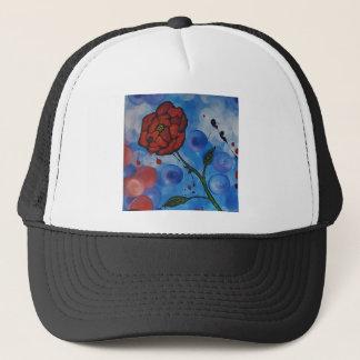 roses & bubbles trucker hat