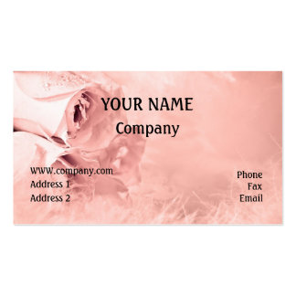 Roses Business Cards