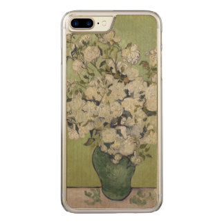 Roses by Vincent van Gogh GalleryHD Vintage Floral Carved iPhone 8 Plus/7 Plus Case