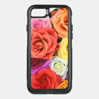 Roses Collage-Bright Mixed Colors OtterBox Commuter iPhone 8/7 Case