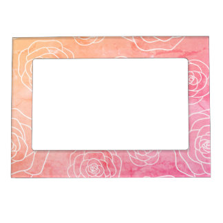 Roses Contour Magnetic Frame