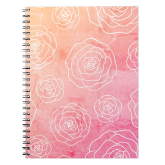 Roses Contour Notebooks