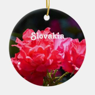 Roses Christmas Tree Ornaments
