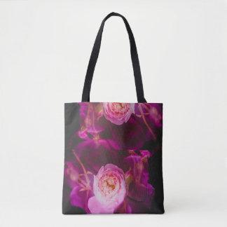 Roses (double exposure version) tote bag