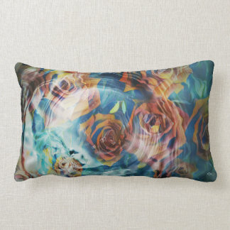 Roses Emerging Lumbar Cushion