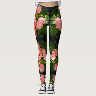 Roses Fairy Leggings For Big Girls