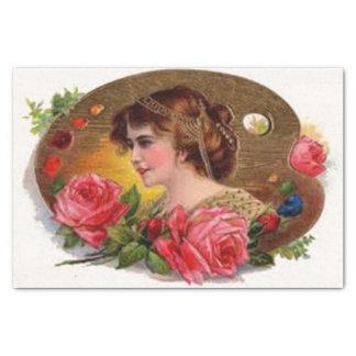 Roses for Mother - Vintage Tissue Paper