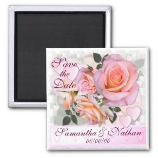 Roses for my Love ~ Save the Date Magnet