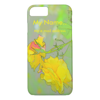 Roses, Get your lovely roses here! iPhone 8/7 Case