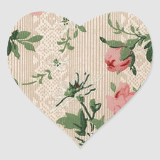 Roses Gifts Heart Sticker