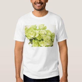 Roses green tshirt