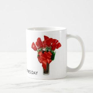 roses HAPPY VALENTINE S DAY Mugs