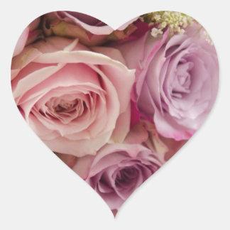 Roses Heart Sticker