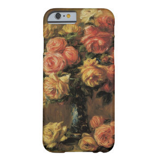 Roses in a Vase by Renoir, Vintage Impressionism Barely There iPhone 6 Case