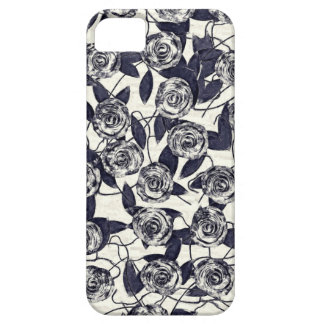 Roses in Bluem Barely There iPhone 5 Case