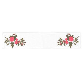Roses in Pink Short Table Runner