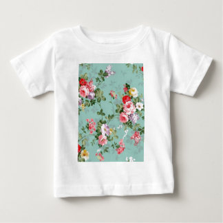 roses in rose and red tee shirt