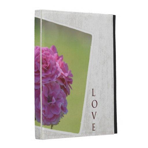 Roses In the Garden iPad Cases