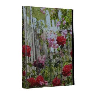 Roses In the Garden iPad Folio Case