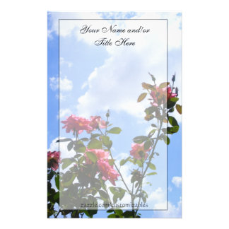Roses in the Sky Stationery