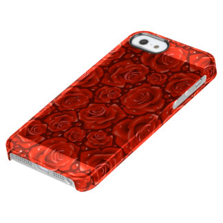 Roses iPhone SE + iPhone 5/5s Clearly™ Deflector Clear iPhone SE/5/5s Case