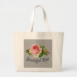 Roses Large Tote Bag