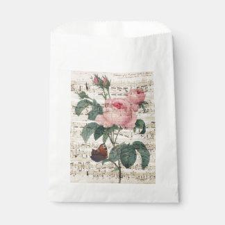 roses musicc favour bags