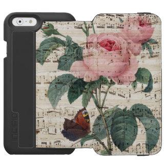 roses musicc incipio watson™ iPhone 6 wallet case