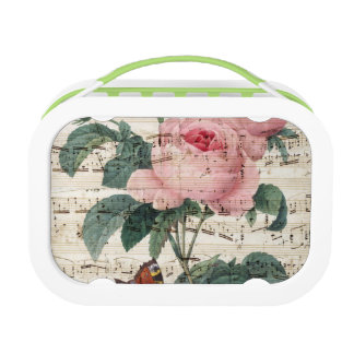 roses musicc lunch box