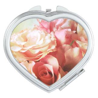 Roses nostalgia makeup mirror