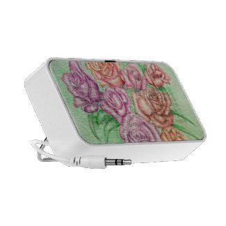 roses notebook speaker