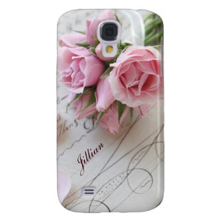 roses on 18th century page Galaxy S4 case