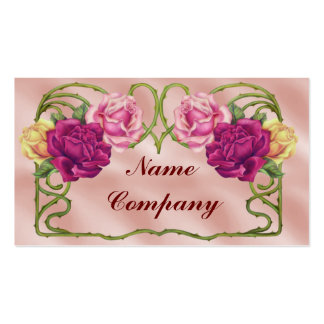 Roses Ornamental Pack Of Standard Business Cards