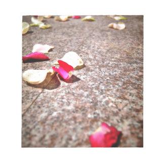Roses Petal Notepad