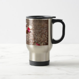 Roses Petal Stainless Steel Travel Mug