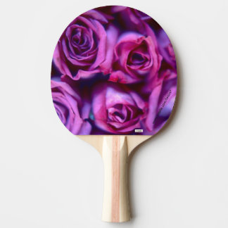 Roses Ping Pong Paddle