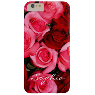 Roses, Pink and Red-iPhone 6 Plus Case