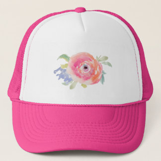 Roses Pink Bride Bachelorette party Trucker Hat
