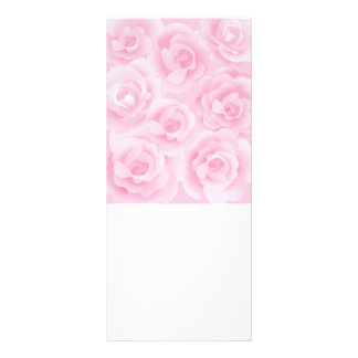 roses customized rack card