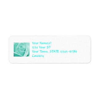 Roses - return address labels