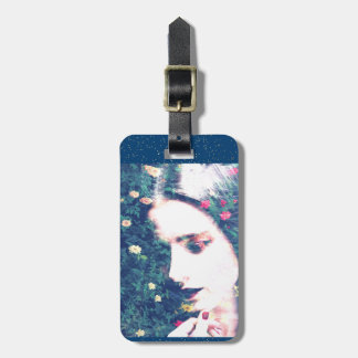 Roses Romantic Mood Girl Beauty Floral Summer Luggage Tag