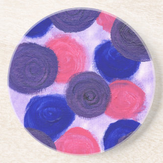 Roses & Roses Drink Coaster