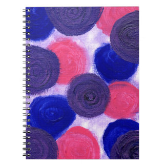Roses Roses Spiral Note Book