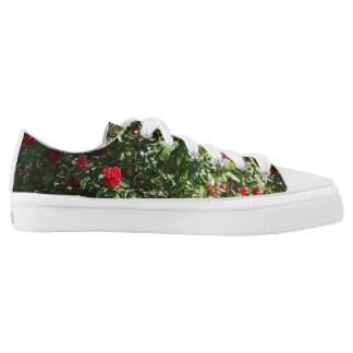 ROSES,ROSES,ROSES PRINTED SHOES