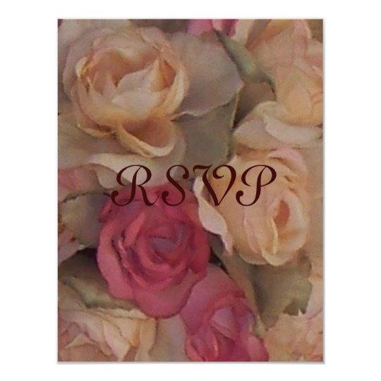 Roses, RSVP Card